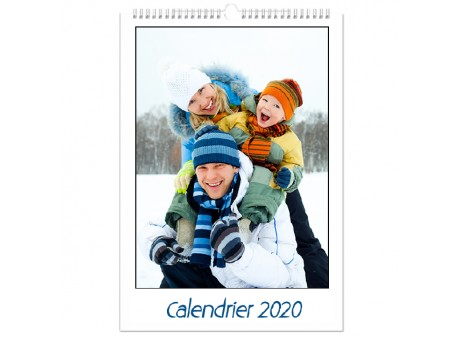 Calendrier 20x30 personnalisable